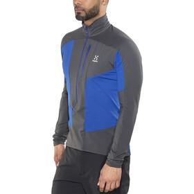 Haglöfs Rock Mid - T-shirt manches longues Homme - gris/bleu